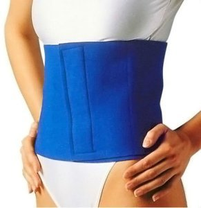 slimming with belt